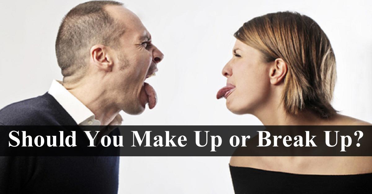Breakup to makeup