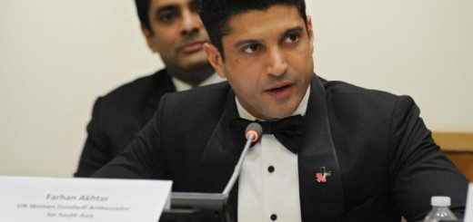 farhan akhtar at the 59th commission on the status of women conference