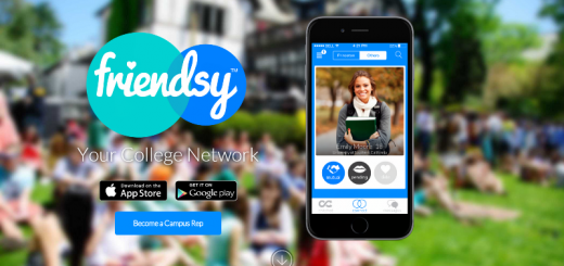 friendsy app home page