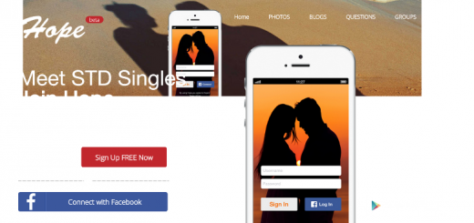 hope dating app home page