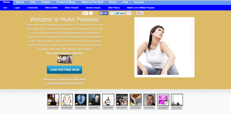 Wierd online dating sites