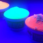 Would you try some glow in the dark ice cream?