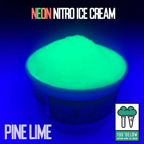 pine lime flavor of neon nitro