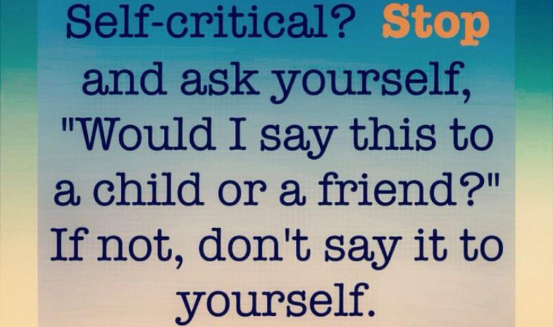 self-critical