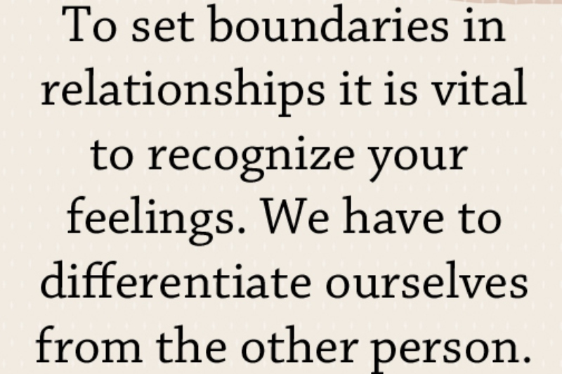 setting boundaries in relationships
