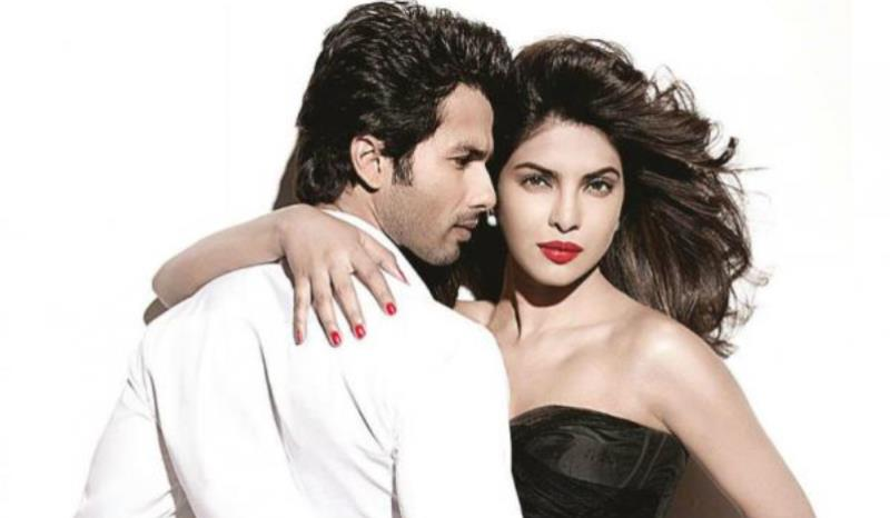 shahid kapoor with priyanka chopra