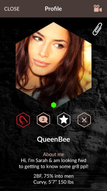 whiplr app page showing a user's profile
