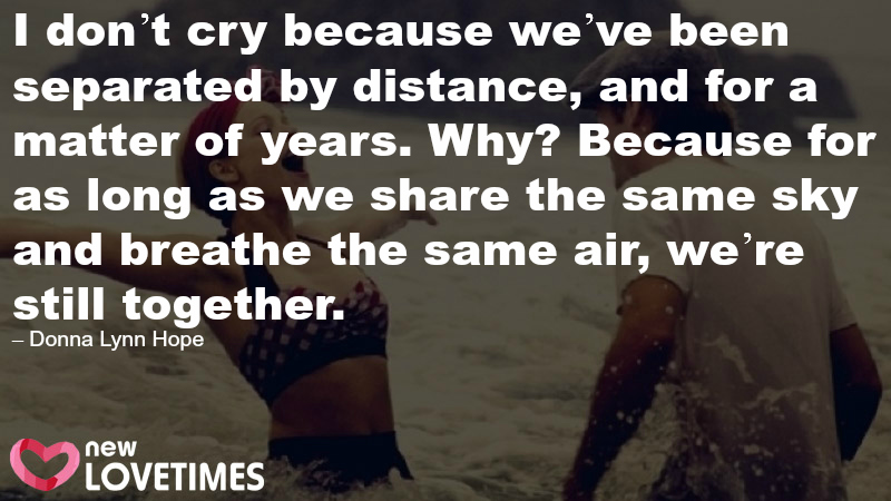 long distance relationship quote