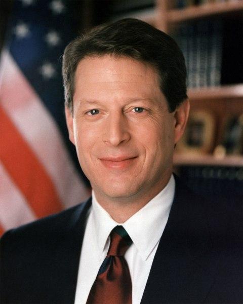 Al Gore, former US vice-president