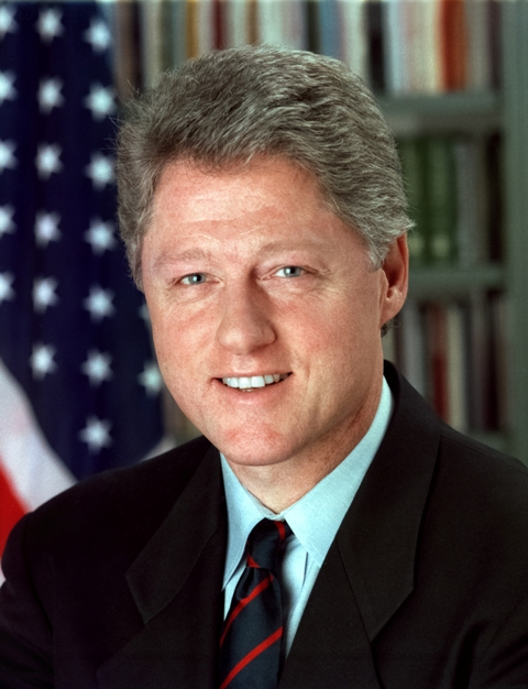 Bill Clinton, the former US President