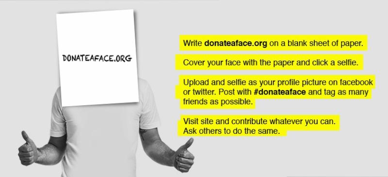 Donateaface