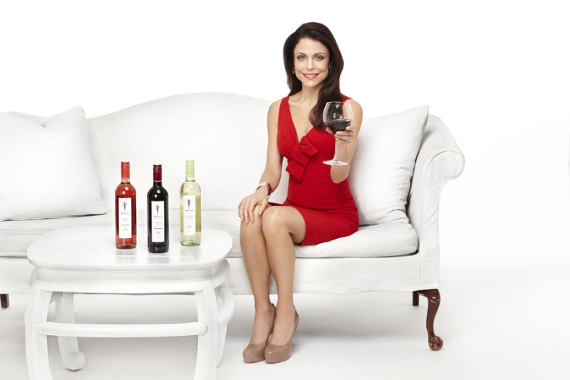 Bethenny Frankel, endorsing Skinnygirls
