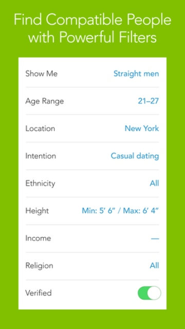 Clover dating app free
