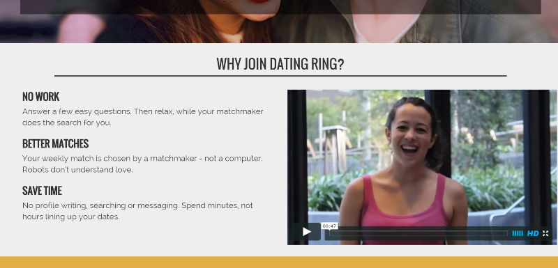 Dating Ring- Reasons to join