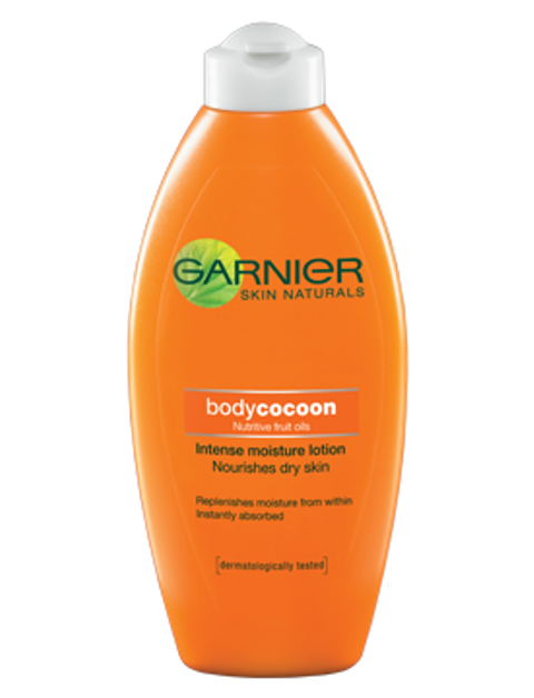garnier skin naturals body cocoon lition