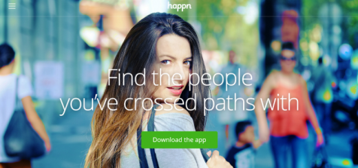 happn dating app home page