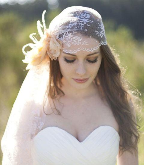 juliet cap wedding veil