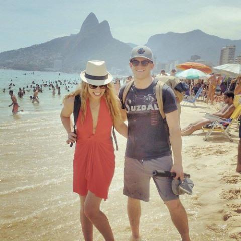 megan sullivan and chris mcnamara in brazil
