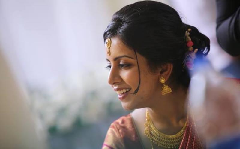 merin joseph at her wedding reception