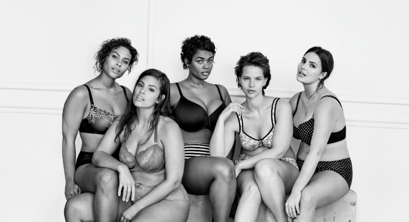 models from lane bryant's #ImNoAngel ad campaign