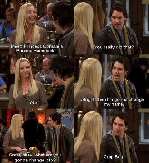 phoebe crap bag