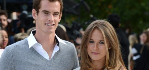 tennis star andy murray and fiancee kim sears