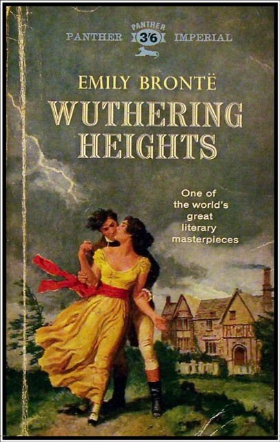 Wuthering Heights by Emily Bronte, published 1847 under the pseudonym 'Ellis Bell'