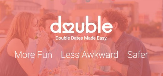 double dating app home page