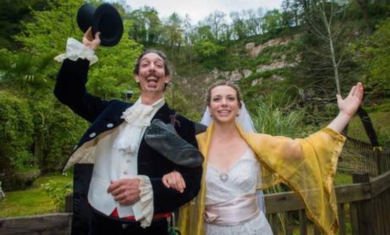 chris bull and phoebe baker, the newlyweds