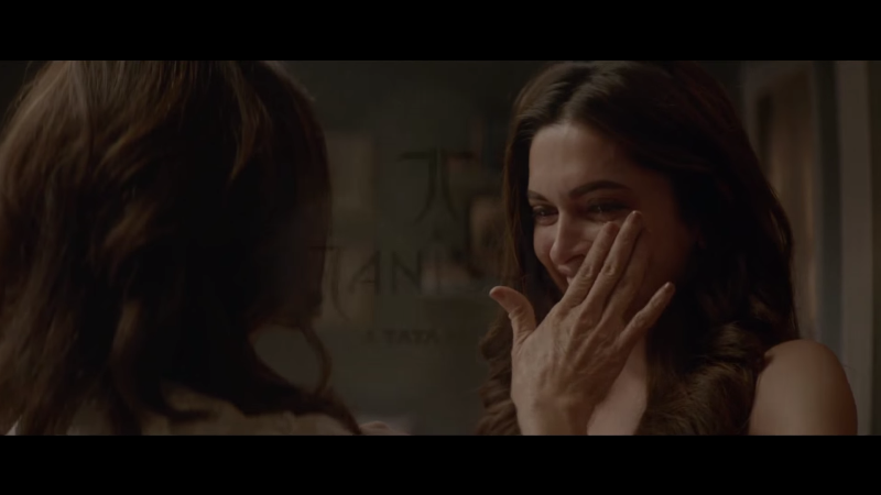 deepika padukone and her mother ujjala padukone in the tanishq ad