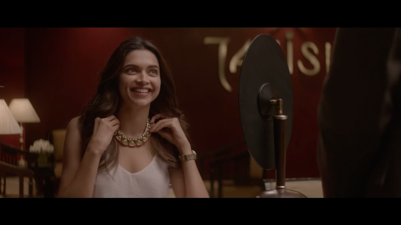 deepika padukone in the tanishq ad