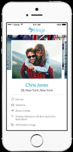 hinge dating app reveals users 39 relationship status. Black Bedroom Furniture Sets. Home Design Ideas
