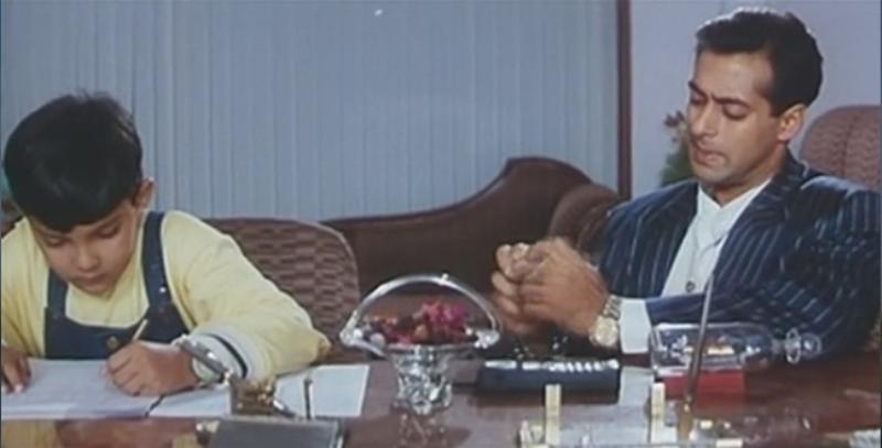 Salman Khan and Aditya Narayan in Jab Pyaar Kisi Se Hota Hai