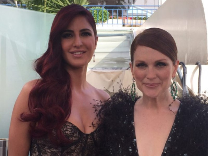 Katrina Kaif and Julianne Moore