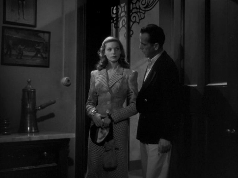 Lauren Bacall in To Have And To Have Not