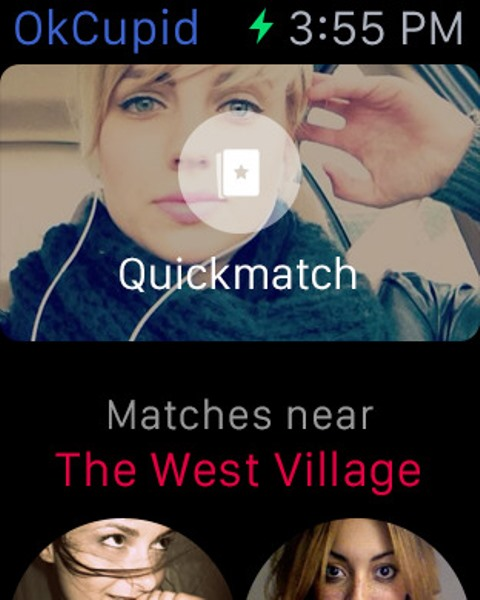 okcupid watch app