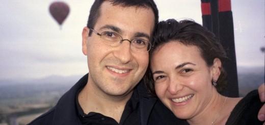 sheryl sandberg with husband dave goldberg
