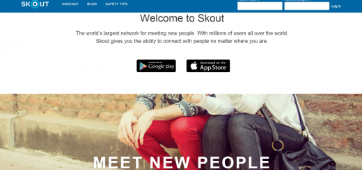 skout app home page