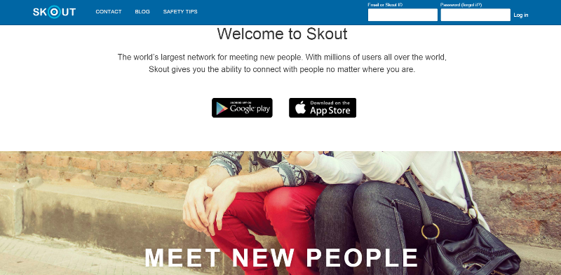 skout online dating app Read reviews, compare customer ratings, see screenshots, and learn more about eharmony - online dating app download eharmony - online dating app and.