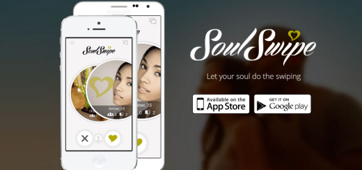 soulswipe dating app home page