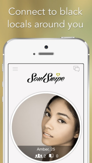 soulswipe dating app page showing a user's profile
