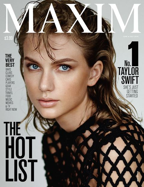 taylor swift on maxim magazine cover