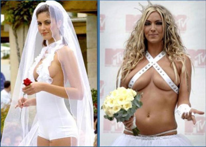 too-modest bride