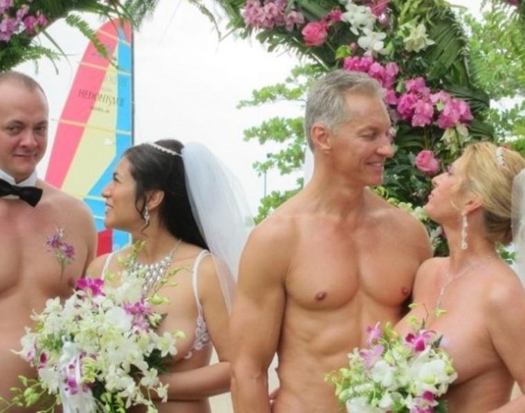 the nude bride