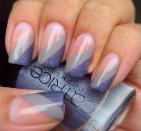 Diagonal nail do