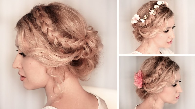 20 chic bridesmaid hairstyles for medium length hair new love times pmusecretfo Image collections