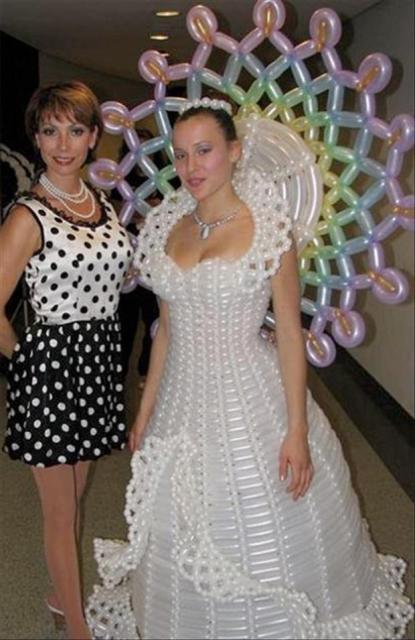 the balloon bride