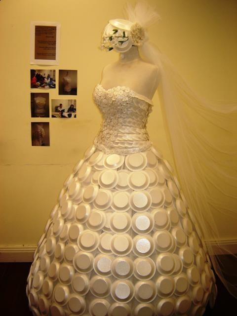 the styrofoam bride