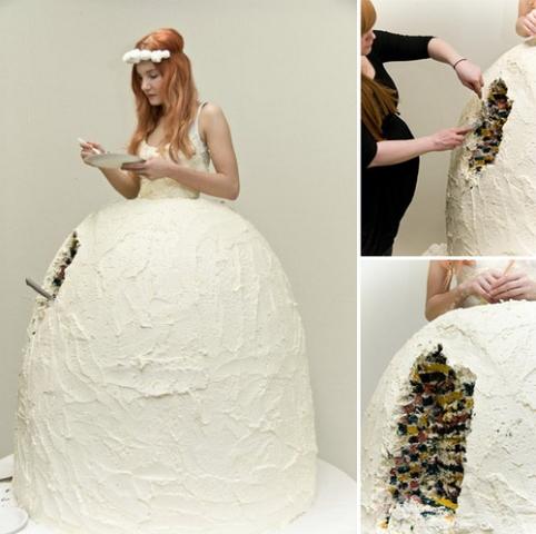the cake-y bride