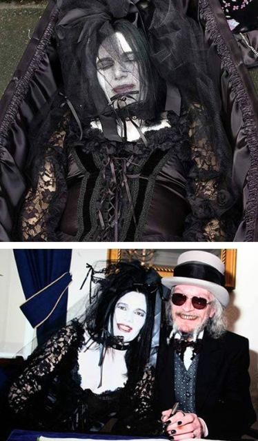 the Goth bride